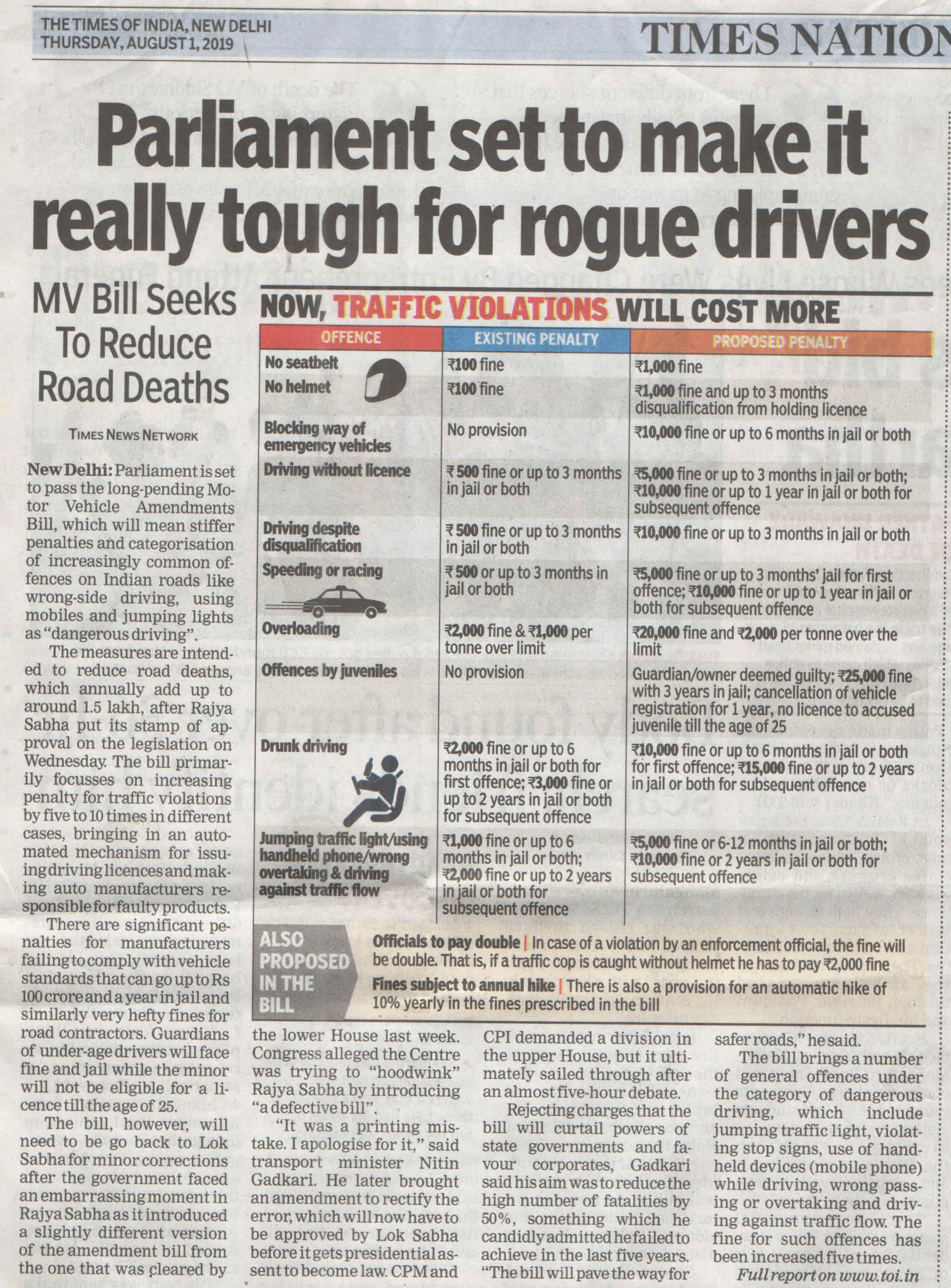 Tough time for Rouge Drivers