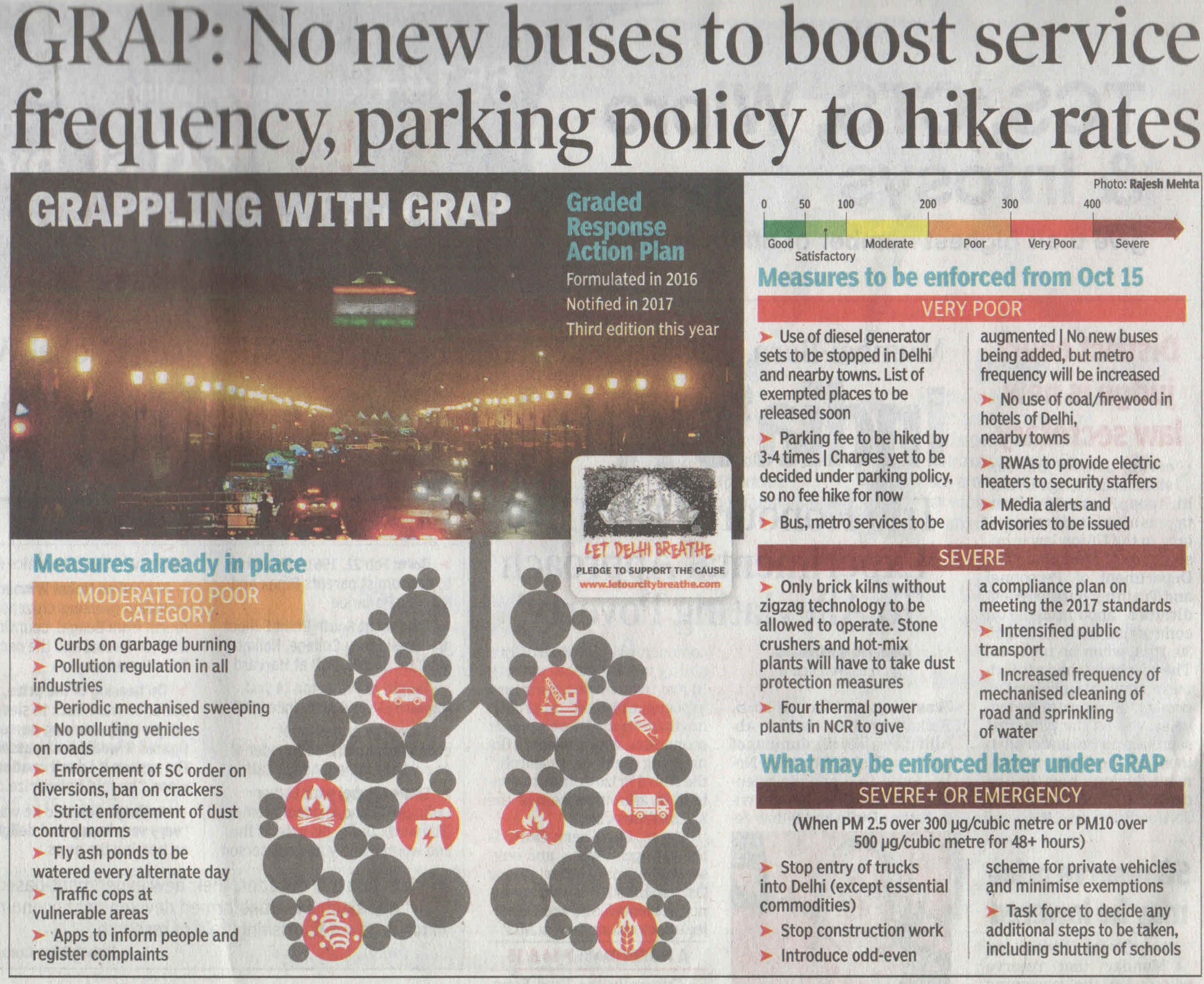 GRAP: No new buses to boost service frequency, parking policy to hike rates