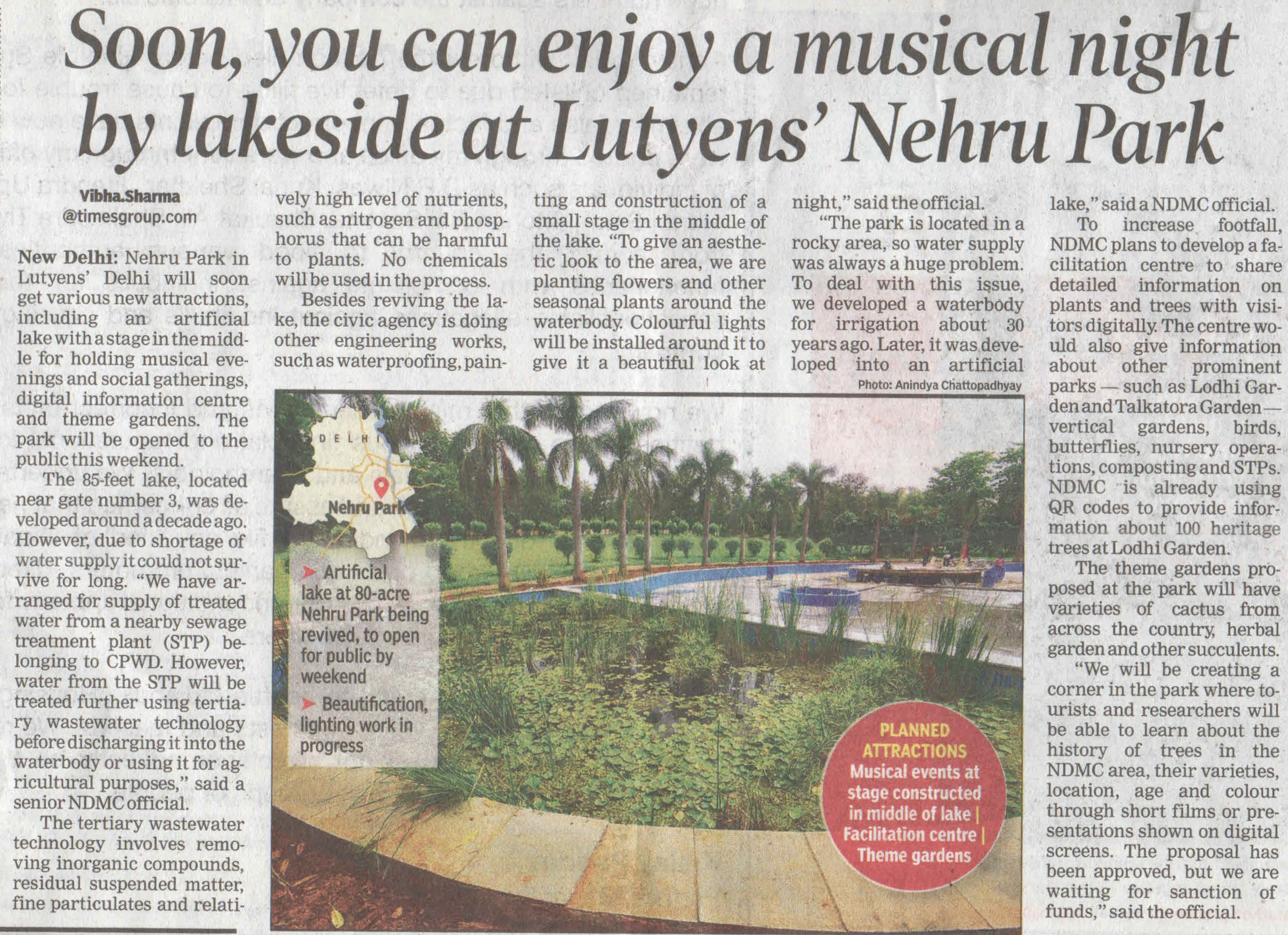 Musical Nights at Nehru Park